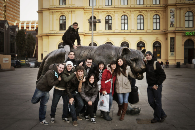 Erasmus students in Oslo
