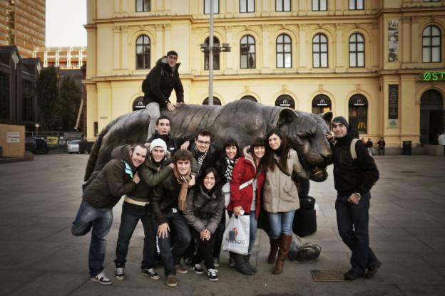 Erasmus students in Oslo