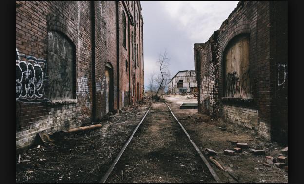 Derelict urban landscape